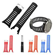 billiga Smart klocka Tillbehör-Klockarmband för SUUNTO AMBIT 3 Suunto Sportband Gummi Handledsrem