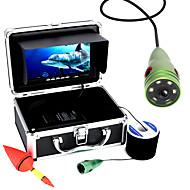Mountainone 30m 1000tvl undervannsfiske videokamera 6 stk ledd lys 7 tommers fargeskjerm