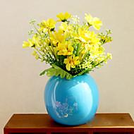 1 Gren Tørrede Blomster Bordblomst Kunstige blomster