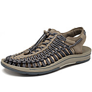 Men's Sandals Comfort Summer Fall Knit Upstream Shoes Athletic Casual Outdoor Gray Ruby Under 1in