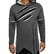 cheap Men's Fashion & Clothing-Men's Sports Long Sleeves Hoodie - Color Block