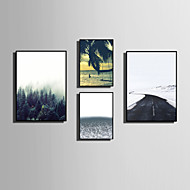 E-HOME® Framed Canvas Art Contracted The Natural Scenery Theme Series Framed Canvas Print One Pcs