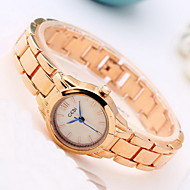 Women's Fashion Watch Japanese Quartz Water Resistant / Water Proof Rose Gold Plated Alloy Band Cool Casual Gold