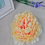 billige Kunstige blomster-1 Gren Fiber Peoner Bordblomst Kunstige blomster
