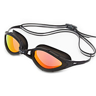 スイミングゴーグル 曇り止め 耐摩耗性 防水 サイズが調整できます。 紫外線カット 耐傷性 偏光レンズ 飛散防止 滑り止めストラップ メッキ仕上げ シリカゲル 偏光PC グレー ゴールド ライトブルー