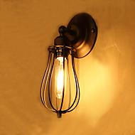 tanie Kinkiety Ścienne-Wiejski Tradycyjny / Classic Kraj Lampy ścienne Na Metal Światło ścienne 110-120V 220-240V 40W