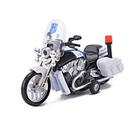 Aufziehbare Fahrzeuge Spielzeugautos Motorräder Polizeiauto Spielzeuge Simulation Auto Motorrad Pferd Metalllegierung Metal Stücke Unisex