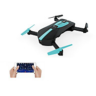 RC Drone JY018 4CH 6 Eixos 2.4G Com 0.3MP HD Camera Quadcópero com CR FPV Retorno Com 1 Botão Modo Espelho Inteligente Vôo Invertido 360°