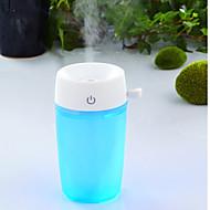 1 kpl DIY aromaterapia ilman humidifieressential öljy hajotin fogger johti yö lightultrasonic aromisäiliötä sumu valmistaja kodinkone