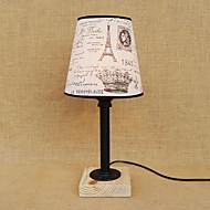 40 Rustikk/hytte Skrivebordslampe , Trekk til LED Øyebeskyttelse , med Annet Bruk På/Av Bytte om