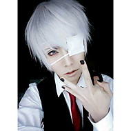 Cosplay Paruky Maska Tokyo Ghoul Ken Kaneki Anime Cosplay Paruky 26 CM Pánské