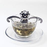 1 bola de chá de aço inoxidável filtro brew fabricante de café manual