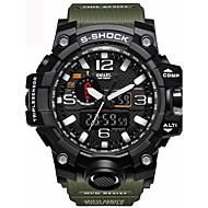 Heren Kinderen Sporthorloge Militair horloge Dress horloge Slim horloge Modieus horloge Polshorloge Armbandhorloge Digitaal LED Kalender