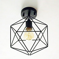 billige Taklamper-BriLight Takplafond Nedlys - Mini Stil, Globus Lanterne Land Traditionel / Klassisk Retro Rød, 110-120V 220-240V Pære ikke Inkludert
