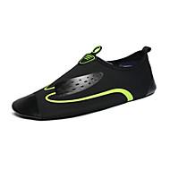 tanie Obuwie męskie-Męskie Komfortowe buty Materiał Wiosna / Lato Mokasyny i buty wsuwane Sporty wodne Czarny zielony / Czarny / Niebieski