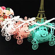 50pcs gelin ve damat kabak vagon düğün kutusu düğün dekorasyon