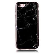 billiga Mobil cases & Skärmskydd-fodral Till Apple iPhone 7 Plus iPhone 7 IMD Skal Marmor Mjukt TPU för iPhone 7 Plus iPhone 7 iPhone 6s Plus iPhone 6s iPhone 6 Plus