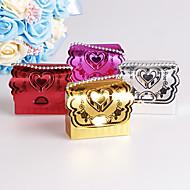 25pcs sevimli kalp şeker kutusu düğün iyilik ve hediye partisi dekorasyon