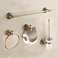 Kylpyhuonetarvikesetti / Antiikkimessinki Antiikki