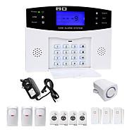 Danmini lcd wirless gsm / pstn casa casa escritório de segurança intruso alarme sistema de alarme