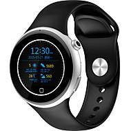 billige Smartklokker-Smartklokke iOS / Android Pulsmåler / Kalorier brent / Pedometere Aktivitetsmonitor / Søvnmonitor / Vekkerklokke / 64MB / Lang Standby