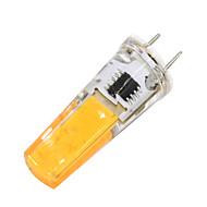 billige Bi-pin lamper med LED-2W 180-200 lm G8 LED-lamper med G-sokkel T 1 leds COB Mulighet for demping Varm hvit AC 110-120V