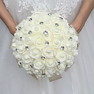 "cheap Wedding Flowers-Wedding Flowers Bouquets Wedding Rhinestone Foam 11.8""(Approx.30cm) 11.02""(Approx.28cm)"