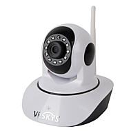 billige IP-kameraer-VESKYS 1.0 MP Innendørs with Dag Natt Primær 128(Dag Nat Bevegelsessensor Dobbeltstrømspumpe Fjernadgang Plug and play IR-klip) IP Camera