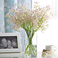 6 Branch Real touch Pink Baby Breath Artificial Flowers Home Decoration