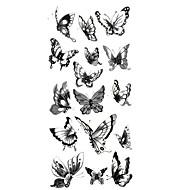 halpa -Tatuointitarrat Eläinsarja Kuvio Alaselkä WaterproofNaisten Miesten Teini Flash Tattoo väliaikaiset tatuoinnit