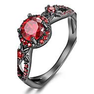 Maxi anel Anel Anel de noivado Cristal Zircônia cúbica Moda Personalizado Euramerican Jóias de Luxo Bijuterias DestaqueCobre Chapeado