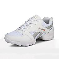Heren Modern Kunstleer Sneaker Buitenshuis Platte hak Wit Zwart 2,5cm Niet aanpasbaar