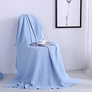 ニット,純色 純色 コットン100% 毛布