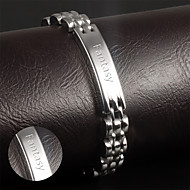 Korean fashion jewelry wholesale leisure smooth titanium bracelet for men Metrosexual Jewelry section GS811