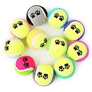 Hračky pro psy Hračky pro zvířata Koule žvýkací hračky Tenisový míček Pro domácí mazlíčky