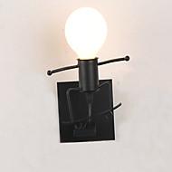 billige Vegglamper-Ac 85-265 40 e27 moderne / moderne tradisjonell / klassisk rustikk / lodge nyhet maleri funksjon for ledet, downlight vegg sconces vegg
