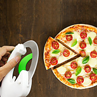 cheap -Plastic Creative Kitchen Gadget Pizza Cutter & Slicer