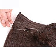 "22""Remy 100%Human Hair Invisible Wire Handband Human Hair Extension 100G"