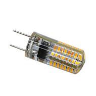billige Bi-pin lamper med LED-YWXLIGHT® 3W 200-300 lm G8 LED-lamper med G-sokkel T 64 leds SMD 3014 Mulighet for demping Dekorativ Varm hvit AC 110V