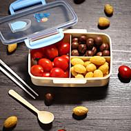 1kpl muovinen lounas laatikko keittiö ruokaa tallennus korkealaatuinen uusi tyyli