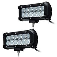 Kawell 2pcs 6,5 36w vodio rad svjetlo bar spot svjetlo 30 stupnjeva 4d vozačica vodootporna 9-32v za off-road vozila pickup automobila suv