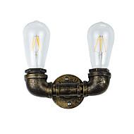 AC 220-240 8 E27 Rustikk/ Hytte Traditionel / Klassisk Antikk Messing Trekk for LED Pære inkludert,Atmosfærelys LED Vegglampe Vegglampe