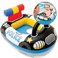 hesapli Havuz ve Su Eğlencesi-Polis Şişme Havuz Şamandıraları Donut Havuz Şamandıraları Yüzücü Yüzükler Plastik Çocuklar için Genç Kız Genç Erkek