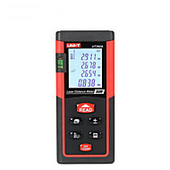 Jednotka ut392a ruční digitální 80m 635nm laserová vzdálenost měřidla s vzdáleností&Měření úhlu (1,5v aaa baterie)