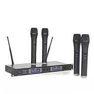 אלחוטי מִיקרוֹפוֹן Wireless מיקרופון דינמי מיקרופון ידני עבור מיקרופון לקריוקי