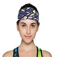 billige -Vendbar hue Headsweat Dame Svedreducerende Bekvem for Yoga Fritidssport Løb Mode Elastin Terylene
