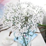1 ブランチ ポリエステル かすみ草 テーブルトップフラワー 人工花