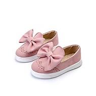 baratos Sapatos de Menina-Para Meninas Sapatos Courino Verão / Outono Solados com Luzes Rasos Caminhada Laço para Cinzento / Vermelho / Rosa claro