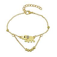 נשים תכשיט לקרסול/צמידים סגסוגת חברות Animal Shape תכשיטים ל קזו'אל יחידה1