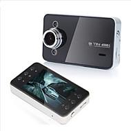 x3 1080p / Full HD 1920 x 1080 Auto DVR 120 stupňů Široký úhel 2.7 inch Dash Cam s HDR Záznamník vozu